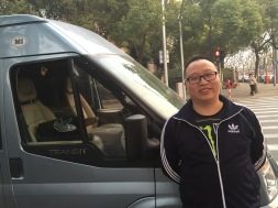 Our driver, Chen, is the best!