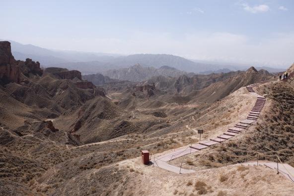 Binggou Danxia Landform