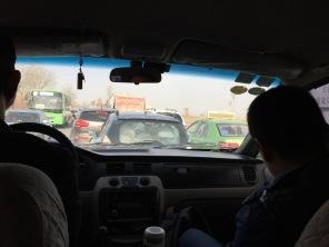 Tomb Sweeping traffic