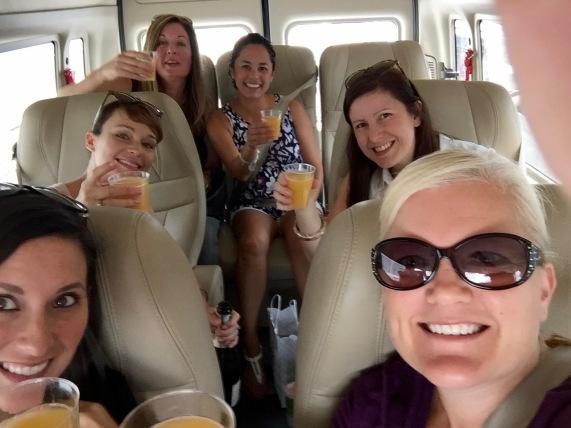Traveling mimosas!