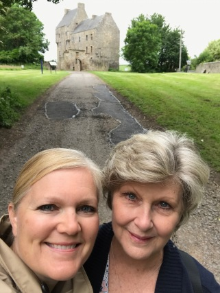 Sharing an amazing Scottish journey with my Mom