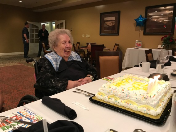 We had the privilege of celebrating with Brett's Grandma for her 100th birthday