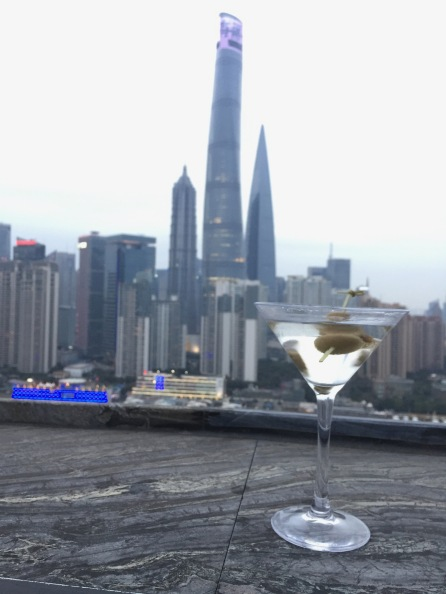 A martini with a view at Char Bar