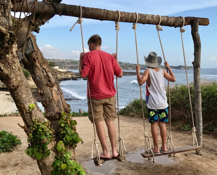 A swing with a view. What could be better?