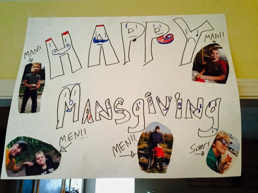 The year of Mansgiving