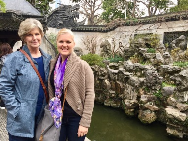 Me and my Mama at Yu Gardens