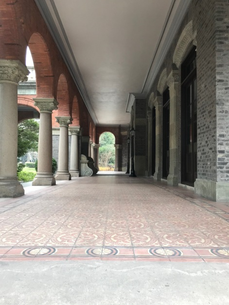The halls of the former British Consulate